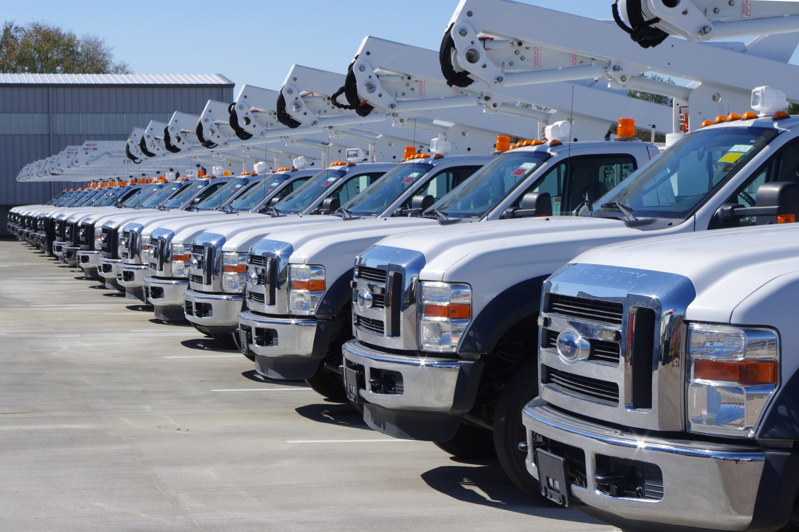 Gps Fleet Tracking For Utility Vehicles Electricity