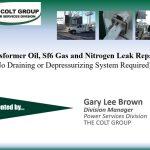 Transformer Oil, Sf6 Gas & Nitrogen Leak Repairs
