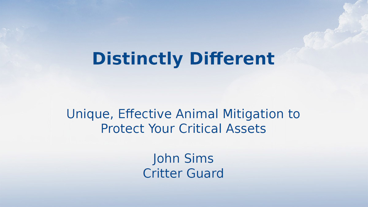Critter Guard – Distinctly Different Animal Mitigation